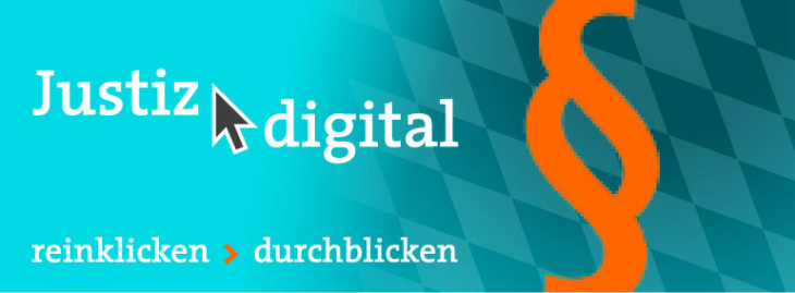 Logo Justiz digital